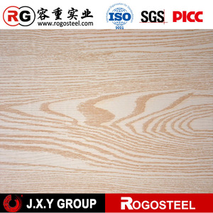 0.12mm -5.0mm thickness color wooden steel tile
